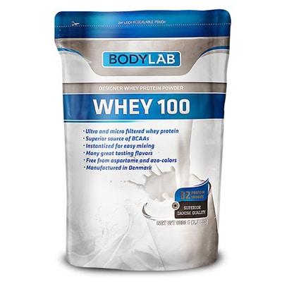 Bodylab Whey 100 proteinpulver test